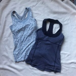 LULULEMON Bundle of 2 Tank Tops Size 4